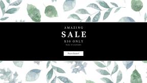 FullHD image template for sales - #banner #businnes #sales #CallToAction #salesbanner #tree #leaf #aqua #branch #pattern #design #flora #wallpaper