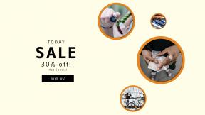 FullHD image template for sales - #banner #businnes #sales #CallToAction #salesbanner #collar #harbour #in #ash #flame #money #street #hundred #textile #bokeh