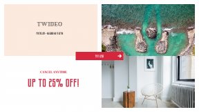 FullHD image template for sales - #banner #businnes #sales #CallToAction #salesbanner #lake #white #turqoise #hawaii #product #inside #next