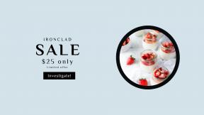 FullHD image template for sales - #banner #businnes #sales #CallToAction #salesbanner #sweet #background #jar #jars #yogurt #white