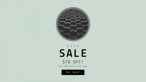 FullHD image template for sales - #banner #businnes #sales #CallToAction #salesbanner #black #pattern #minimal #circular #abstract #shapes #sphere