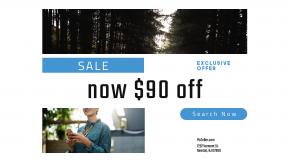 FullHD image template for sales - #banner #businnes #sales #CallToAction #salesbanner #brunette #camp #button #on #path #landscape #telecommunication