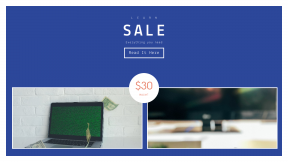 FullHD image template for sales - #banner #businnes #sales #CallToAction #salesbanner #code #automation #computer #white #television