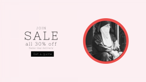FullHD image template for sales - #banner #businnes #sales #CallToAction #salesbanner #urban #angel #portrait #style #street #scarf #color #business #best