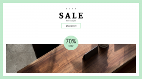 FullHD image template for sales - #banner #businnes #sales #CallToAction #salesbanner #plant #coffee #shop #decor #chair #seat #woman #pot #wooden