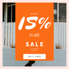 Image design template for sales - #banner #businnes #sales #CallToAction #salesbanner #red #male #house #sunglasses #hipster #person #skateboarder #cali