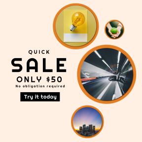 Image design template for sales - #banner #businnes #sales #CallToAction #salesbanner #long #door #sunset #color #transport #pantone