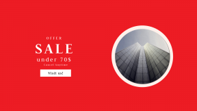FullHD image template for sales - #banner #businnes #sales #CallToAction #salesbanner #glow #tower #architecture #symmetry #cloud #skyscraper