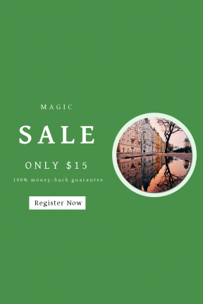 Portrait design template for sales - #banner #businnes #sales #CallToAction #salesbanner #fence #tree #skeletal #europe #prague #building #puddle