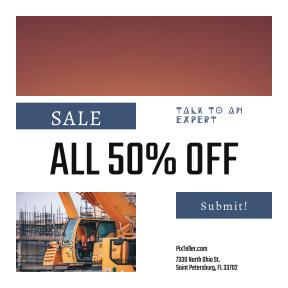 Image design template for sales - #banner #businnes #sales #CallToAction #salesbanner #human #happy #shine #workman #shirt #woman