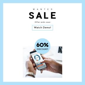 Image design template for sales - #banner #businnes #sales #CallToAction #salesbanner #smartphone #office #using #internet #mobile #business