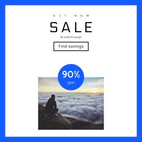 Image design template for sales - #banner #businnes #sales #CallToAction #salesbanner #horizon #cloud #outdoors #mist #dawn #clouds