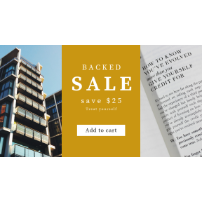 Image design template for sales - #banner #businnes #sales #CallToAction #salesbanner #condo #philosophy #writing #london #words #grid #building #city
