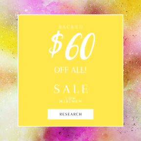 Image design template for sales - #banner #businnes #sales #CallToAction #salesbanner #up #yellow #phenomenon #paint #atmosphere #watercolor