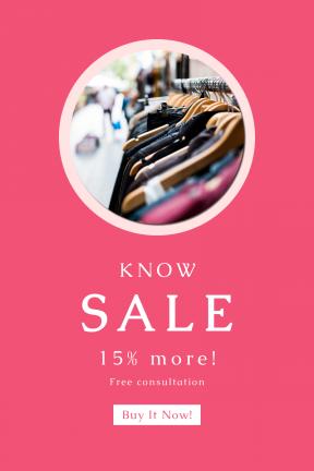 Portrait design template for sales - #banner #businnes #sales #CallToAction #salesbanner #sale #cool #essentials #retail #clothing #geometric