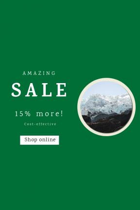 Portrait design template for sales - #banner #businnes #sales #CallToAction #salesbanner #ice #giant #snow #nature #newzealand