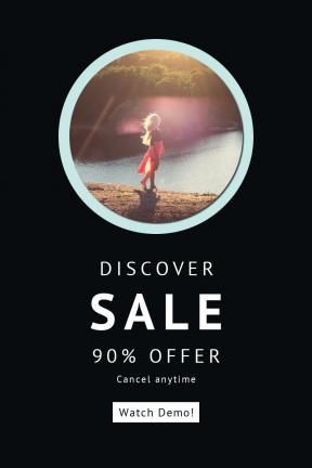 Portrait design template for sales - #banner #businnes #sales #CallToAction #salesbanner #woman #golden #holiday #female #lake #geometric #teen #mountain