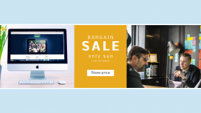 FullHD image template for sales - #banner #businnes #sales #CallToAction #salesbanner #togetherness #planning #bucket #media #keyboard #work #iMac #office #imac
