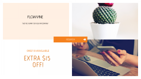 FullHD image template for sales - #banner #businnes #sales #CallToAction #salesbanner #planter #directional #macbook #unique #usb #hipster #arrows #polish #girl #cell