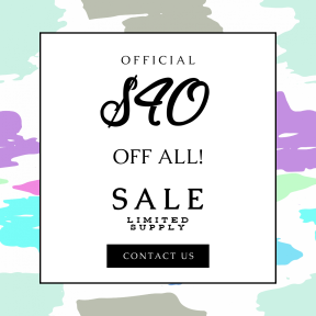 Image design template for sales - #banner #businnes #sales #CallToAction #salesbanner #font #graphic #design #text #pink #sky #purple