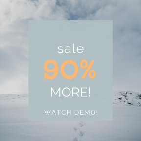 Image design template for sales - #banner #businnes #sales #CallToAction #salesbanner #snow #person #nature #explore #cold #travel #wallpaper #hiking #wanderlust