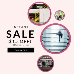 Image design template for sales - #banner #businnes #sales #CallToAction #salesbanner #day #urban #shop #store #wall #geometry #glass #crouch #walk #design