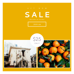 Image design template for sales - #banner #businnes #sales #CallToAction #salesbanner #business #urban #picked #new #food #tall #citrus #ripe
