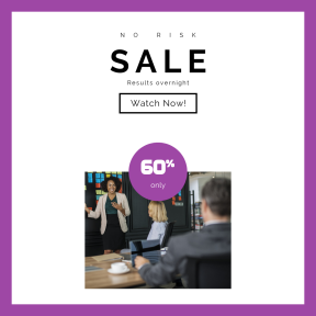 Image design template for sales - #banner #businnes #sales #CallToAction #salesbanner #talking #person #business #workplace #planning