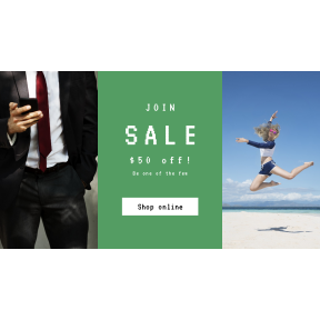 Image design template for sales - #banner #businnes #sales #CallToAction #salesbanner #business #on #connection #blonde #woman