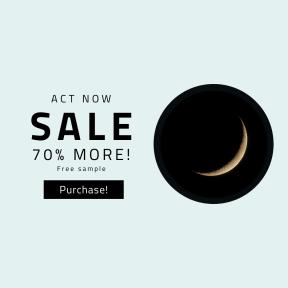 Image design template for sales - #banner #businnes #sales #CallToAction #salesbanner #desert #closeup #eclipse #background #crescent