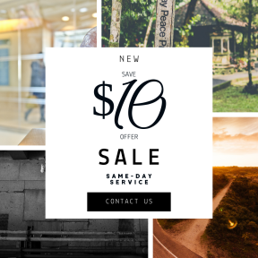Image design template for sales - #banner #businnes #sales #CallToAction #salesbanner #horizon #person #typography #corridor #peace #sunlight #morning #and