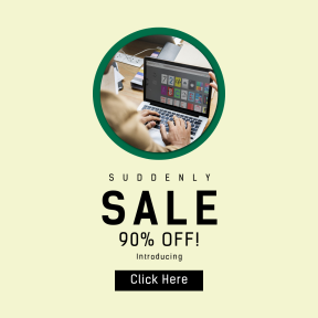 Image design template for sales - #banner #businnes #sales #CallToAction #salesbanner #male #laptop #design #corporate #work #interface