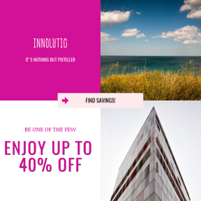 Image design template for sales - #banner #businnes #sales #CallToAction #salesbanner #sea #architecture #minimal #city #right #cloud