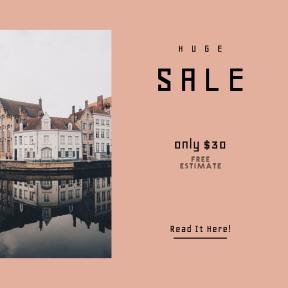 Image design template for sales - #banner #businnes #sales #CallToAction #salesbanner #winter #cloud #belgium #home #europe #city #bruges #house #architecture #building