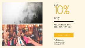 FullHD image template for sales - #banner #businnes #sales #CallToAction #salesbanner #mist #fog #tassel #alaska #dentist