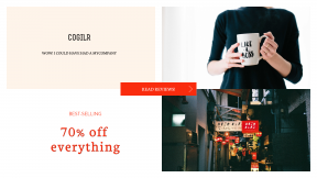 FullHD image template for sales - #banner #businnes #sales #CallToAction #salesbanner #lady #graphic #skip #businesswoman #color #tea