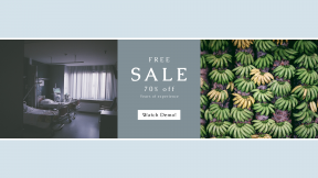 FullHD image template for sales - #banner #businnes #sales #CallToAction #salesbanner #doctor #sale #chair #gray #hospital