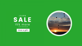 FullHD image template for sales - #banner #businnes #sales #CallToAction #salesbanner #balloon #cloud #hotballoon #nature #light #landscape