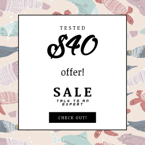 Image design template for sales - #banner #businnes #sales #CallToAction #salesbanner #pattern #textile #design #illustration #pink