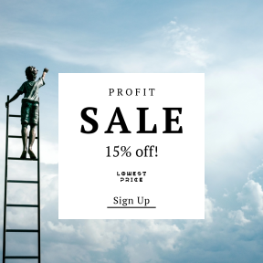 Image design template for sales - #banner #businnes #sales #CallToAction #salesbanner #personal #success #supply #card #a #sculpture #child #blooming #rise