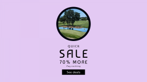 FullHD image template for sales - #banner #businnes #sales #CallToAction #salesbanner #pond #nature #calm #sport #green #landscape #golf