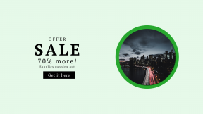 FullHD image template for sales - #banner #businnes #sales #CallToAction #salesbanner #bridge #street #exposure #citylight #rush #skyline #nightsky #new #blue #city