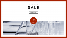 FullHD image template for sales - #banner #businnes #sales #CallToAction #salesbanner #labo #science #blur #chemistry #lab