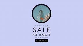 FullHD image template for sales - #banner #businnes #sales #CallToAction #salesbanner #minimal #tall #window #sky #modern