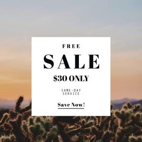 Image design template for sales - #banner #businnes #sales #CallToAction #salesbanner #nature #love #wild #joshua #sunrise #sunset #background #desert #usa