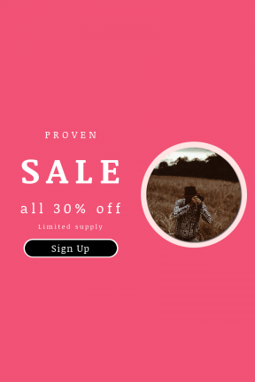 Portrait design template for sales - #banner #businnes #sales #CallToAction #salesbanner #male #hat #holding #cereal #agriculture #plaid