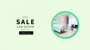 FullHD image template for sales - #banner #businnes #sales #CallToAction #salesbanner #room #medic #medical #cama #hospital #sheets #bed #chair #clinic #seat
