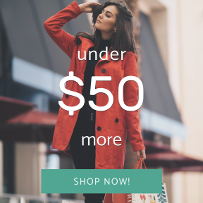 Image design template for sales - #banner #businnes #sales #CallToAction #salesbanner #coat #mall #red #model #christmas #woman #bags #shopping