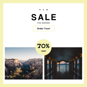 Image design template for sales - #banner #businnes #sales #CallToAction #salesbanner #desert #estate #zion #evening #canyon #roof #outdoors #sky #resort #pier