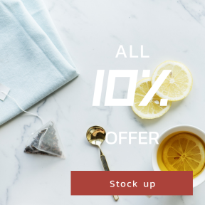 Image design template for sales - #banner #businnes #sales #CallToAction #salesbanner #bag #mug #cup #organic #lay #routine #refreshing #relax #flat